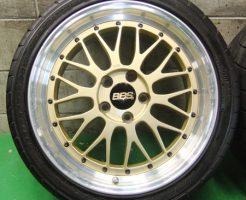 BBS LM095 LM149 225/40ZR18 255/35ZR18 ゴールド